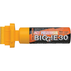 ZIG POSTERMAN WET-WIPE BIGGIE 30MM